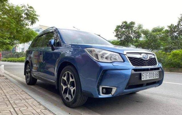 Cần bán xe Subaru Forester sản xuất 2014, màu xanh lam còn mới, giá tốt1
