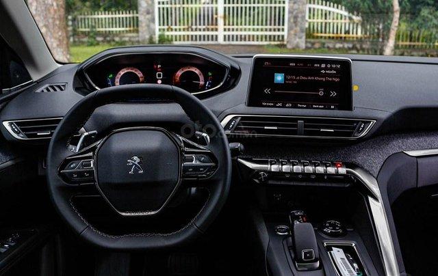 [Peugeot Bình Tân] Ưu đãi đặc biệt Peugeot 5008 AL, màu xanh ngọc bảo, tặng BHVC - giá tốt nhất Sài Gòn giao ngay5