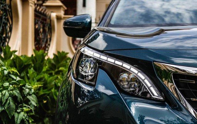 [Peugeot Bình Tân] Ưu đãi đặc biệt Peugeot 5008 AL, màu xanh ngọc bảo, tặng BHVC - giá tốt nhất Sài Gòn giao ngay2