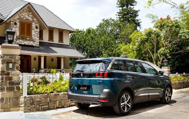 [Peugeot Bình Tân] Ưu đãi đặc biệt Peugeot 5008 AL, màu xanh ngọc bảo, tặng BHVC - giá tốt nhất Sài Gòn giao ngay3