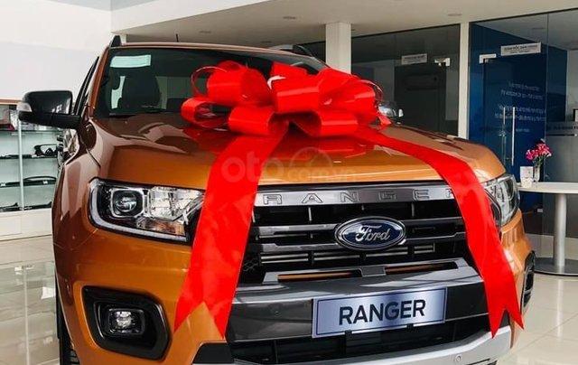 Ford Ranger Wildtrak 2.0L AT 4x4 có đủ màu, giảm ngay 40 triệu, tặng dán phim cách nhiệt, phủ gầm, lót sàn 5D0