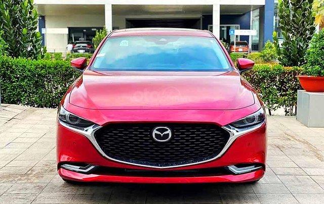 Cần bán Mazda 3 năm sản xuất 2020, màu đỏ, giá chỉ 799 triệu3
