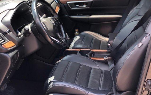 Hỗ trợ mua xe giá thấp với chiếc Honda CRV L sản xuất năm 2018, xe còn mới, chính chủ sử dụng2