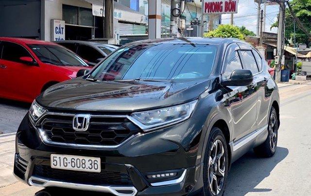 Hỗ trợ mua xe giá thấp với chiếc Honda CRV L sản xuất năm 2018, xe còn mới, chính chủ sử dụng0