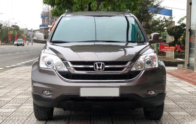 Bán Honda CR-V phiên bản 2.4L sản xuất và đăng ký cuối cùng năm 2012, màu nâu1