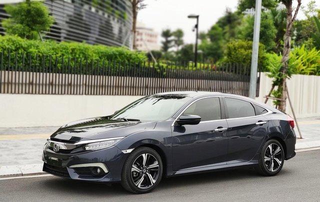Honda Civic 1.5L màu xanh lam, xe nhập, giá tốt0