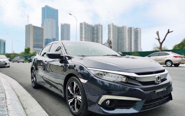 Honda Civic 1.5L màu xanh lam, xe nhập, giá tốt1