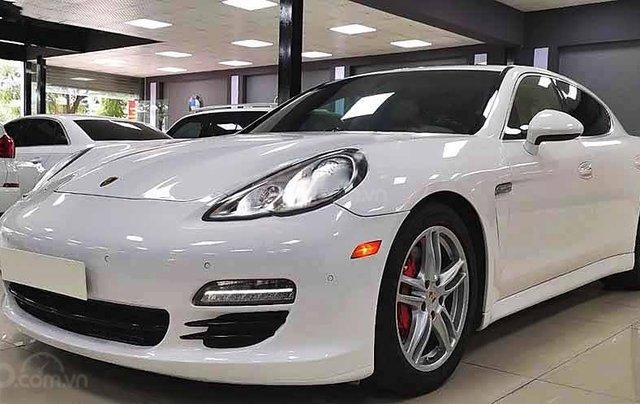 Bán ô tô Porsche Panamera năm 2009, màu trắng, xe nhập0