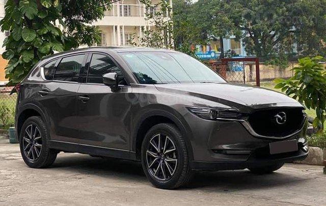 Chính chủ bán Mazda CX5 Skyactive 2.5L, biển đẹp, màu nâu xám, đăng ký 12/2017, mới lăn bánh 37000km1