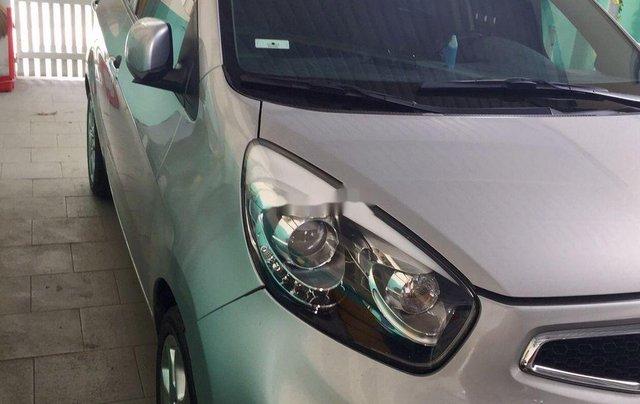 Cần bán lại xe Kia Picanto đời 2013, màu bạc, nhập khẩu5