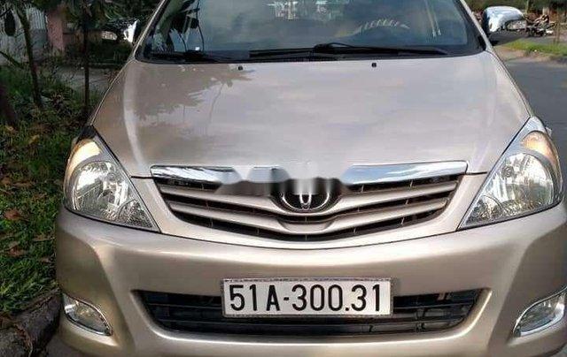 Bán Toyota Innova sản xuất 2012, màu vàng chính chủ, giá tốt8