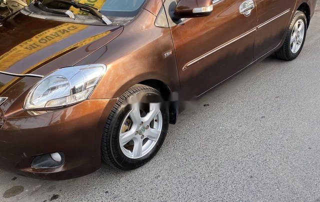 Bán xe Toyota Vios năm sản xuất 2010, màu nâu còn mới, 193tr4