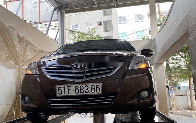 Bán xe Toyota Vios năm sản xuất 2010, màu nâu còn mới, 193tr8