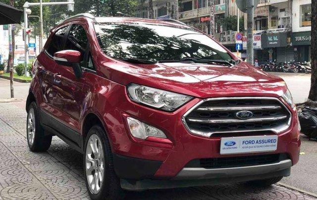 Bán xe Ford EcoSport năm 2018, màu đỏ5