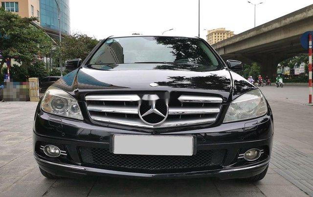 Bán xe Mercedes C300 đời 2010, màu đen0