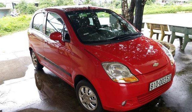 Cần bán Chevrolet Spark sản xuất 2012, màu đỏ còn mới, 114 triệu0