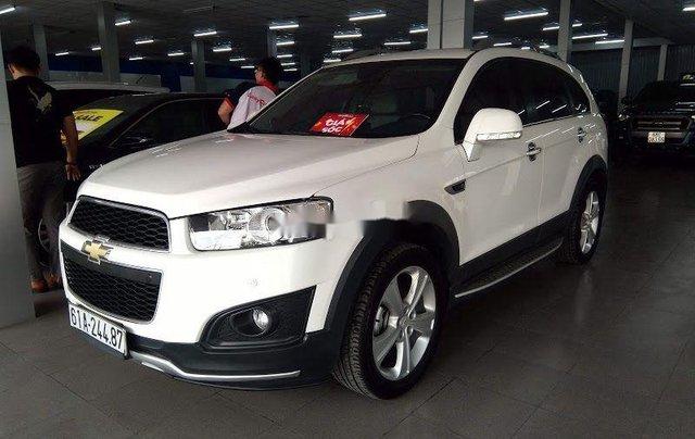 Bán Chevrolet Captiva năm sản xuất 2015, màu trắng1