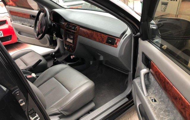 Cần bán gấp Chevrolet Lacetti đời 2012, màu đen5
