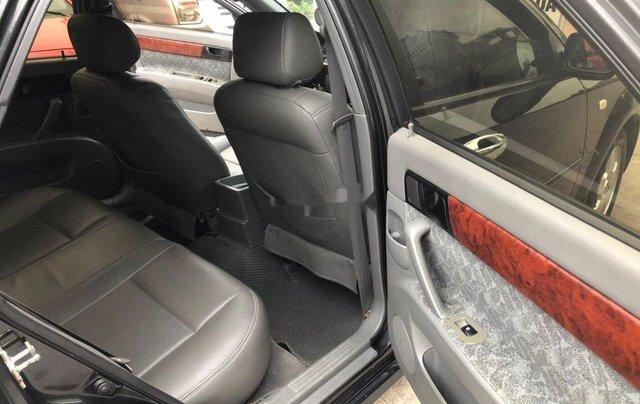 Cần bán gấp Chevrolet Lacetti đời 2012, màu đen6