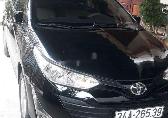 Bán ô tô Toyota Vios năm sản xuất 2018, màu đen chính chủ0