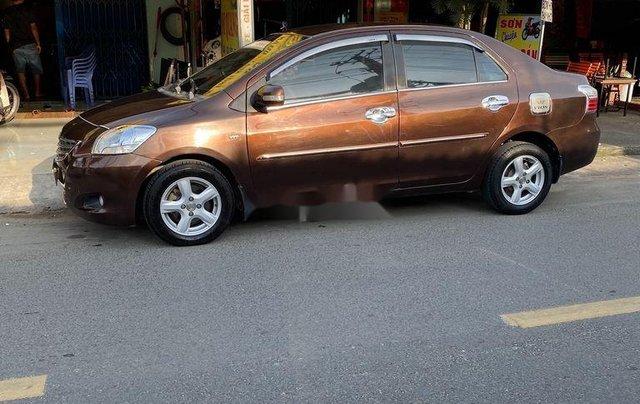 Bán xe Toyota Vios năm sản xuất 2010, màu nâu còn mới, 193tr2