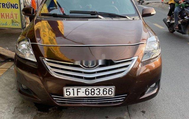 Bán xe Toyota Vios năm sản xuất 2010, màu nâu còn mới, 193tr0