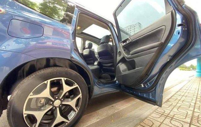 Cần bán xe Subaru Forester sản xuất 2014, màu xanh lam còn mới, giá tốt11
