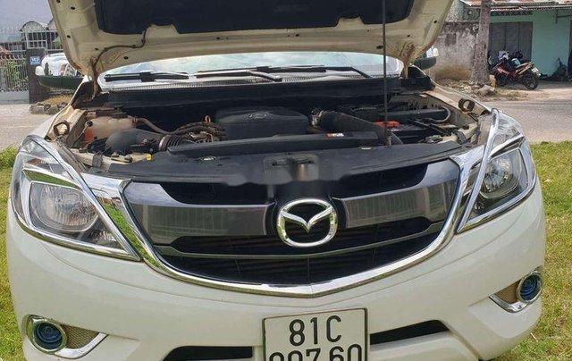 Bán Mazda BT 50 đời 2016, màu trắng, nhập khẩu số sàn2