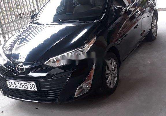 Bán ô tô Toyota Vios năm sản xuất 2018, màu đen chính chủ1