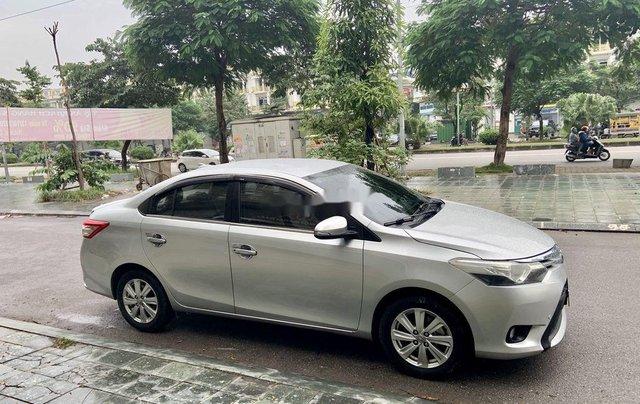 Cần bán Toyota Vios đời 2017, màu bạc, 475tr2