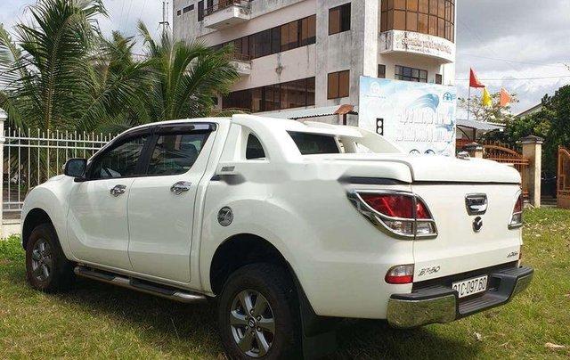 Bán Mazda BT 50 đời 2016, màu trắng, nhập khẩu số sàn1