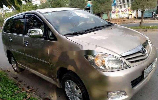 Bán Toyota Innova sản xuất 2012, màu vàng chính chủ, giá tốt0