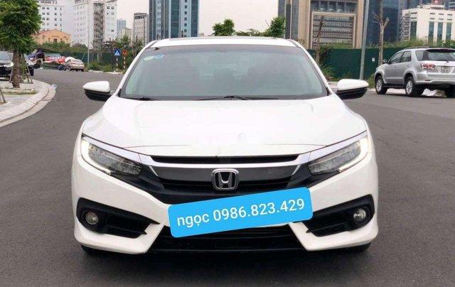 Cần bán xe Honda Civic năm 2017, màu trắng, xe nhập 0