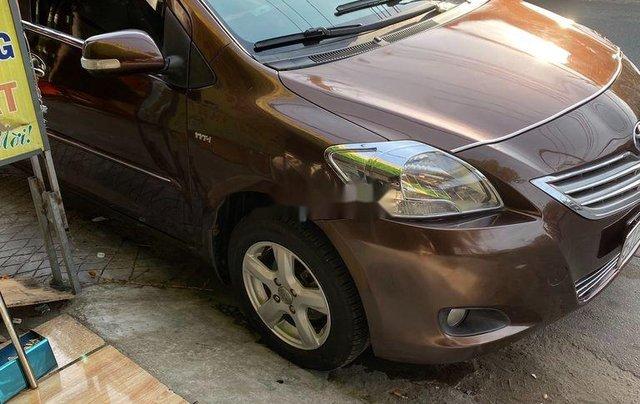 Bán xe Toyota Vios năm sản xuất 2010, màu nâu còn mới, 193tr3