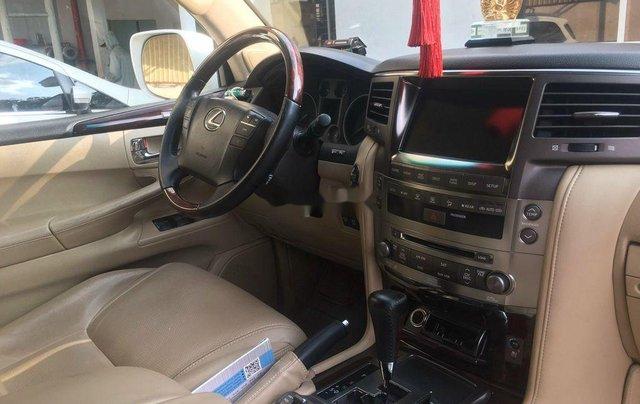 Bán Lexus LX 570 đời 2010, màu trắng, nhập khẩu nguyên chiếc2