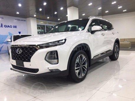 [Hyundai Vĩnh Long] Hyundai Santafe 2020 giảm 50% thuế trước bạ, giảm 40tr tiền mặt + quà tặng phụ kiện1