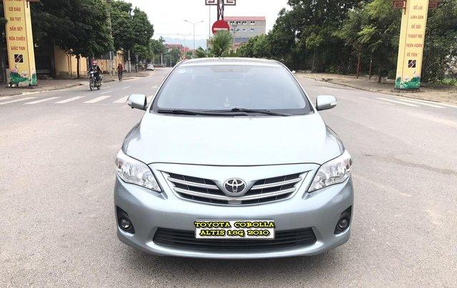 Toyota Corolla Altis 1.8G AT cuối 2010 form mới 2011, tự động, màu ghi, 1 chủ, xe tuyển ACE không phải nghĩ0