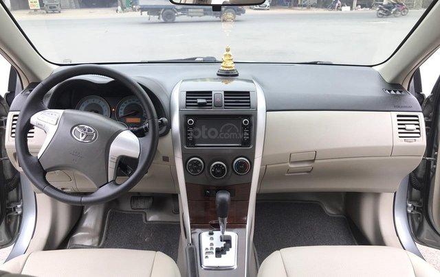 Toyota Corolla Altis 1.8G AT cuối 2010 form mới 2011, tự động, màu ghi, 1 chủ, xe tuyển ACE không phải nghĩ4