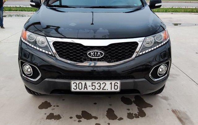 Cần bán xe Kia Sorento đời 2015, màu đen, số tự động2
