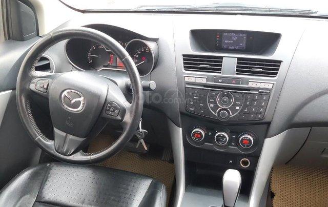 Bán xe Mazda BT 50 đời 2014, màu vàng, máy dầu11