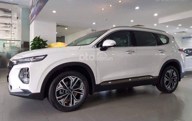 [Hyundai Santa Fe 2020] giảm 50% thuế trước bạ + tặng tiền mặt + gói phụ kiện chính hãng1