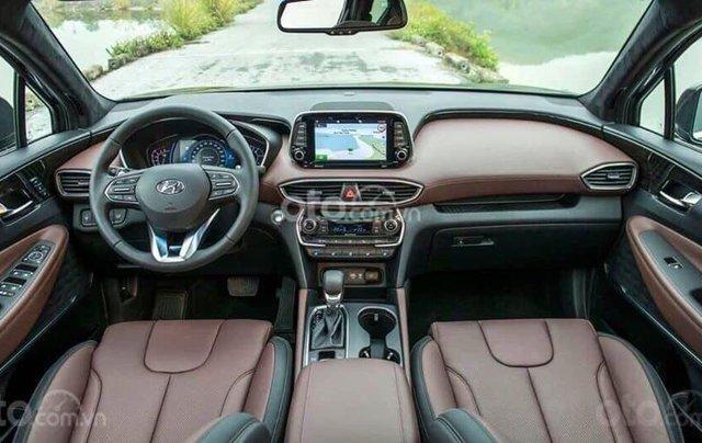 [Hyundai Santa Fe 2020] giảm 50% thuế trước bạ + tặng tiền mặt + gói phụ kiện chính hãng4