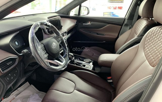 [Hyundai Santa Fe 2020] giảm 50% thuế trước bạ + tặng tiền mặt + gói phụ kiện chính hãng10