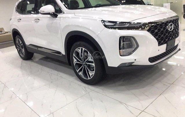 [Hyundai Santa Fe 2020] giảm 50% thuế trước bạ + tặng tiền mặt + gói phụ kiện chính hãng6
