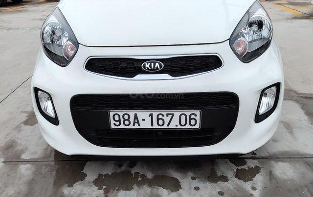 Bán gấp Kia Morning năm sản xuất 2018, màu trắng2