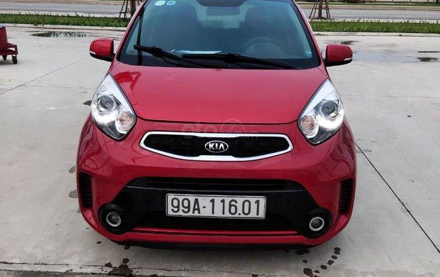Cần bán xe Kia Morning đời 2016, màu đỏ, số tự động1
