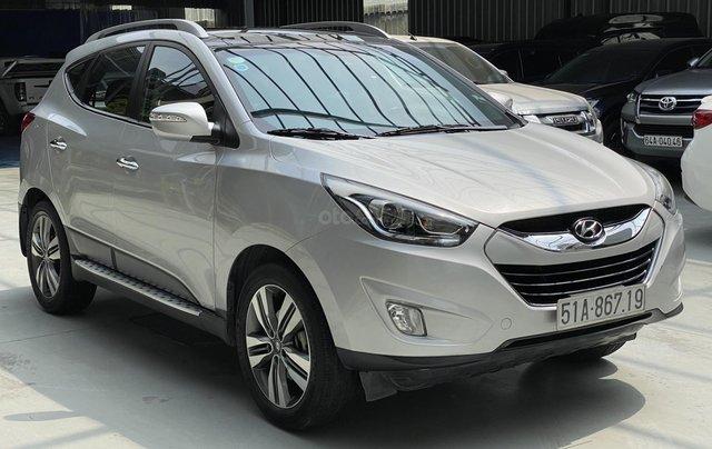 Hyundai Tucson 2.0AT 2014 mẫu mới, bao rút hồ sơ0