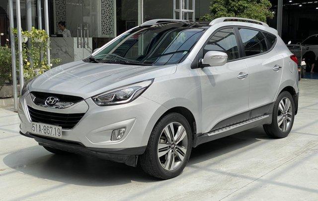Hyundai Tucson 2.0AT 2014 mẫu mới, bao rút hồ sơ4