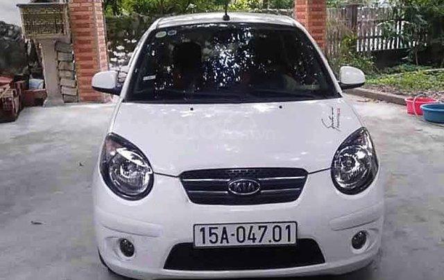 Bán ô tô Kia Morning năm 2011, màu trắng, 128tr0
