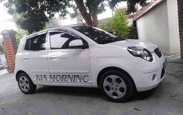 Bán ô tô Kia Morning năm 2011, màu trắng, 128tr1